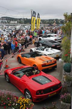 Supercar line up