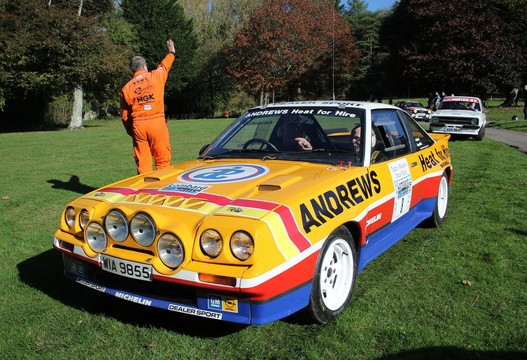 Opel Manta 400 - Jimmy McRae re-united with the Manta