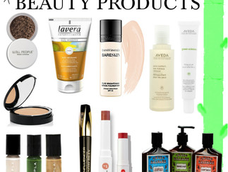Green/Eco Friendly Beauty Products