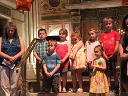 Children during service