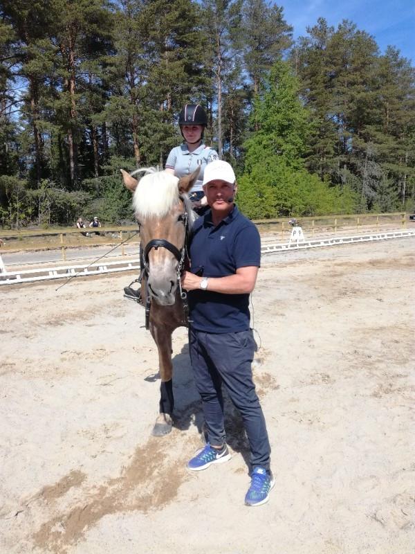 Marko Björs ihastutti kokkolalaiset ratsukot