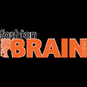 Fashion Brain Logo White & Orange 600x60