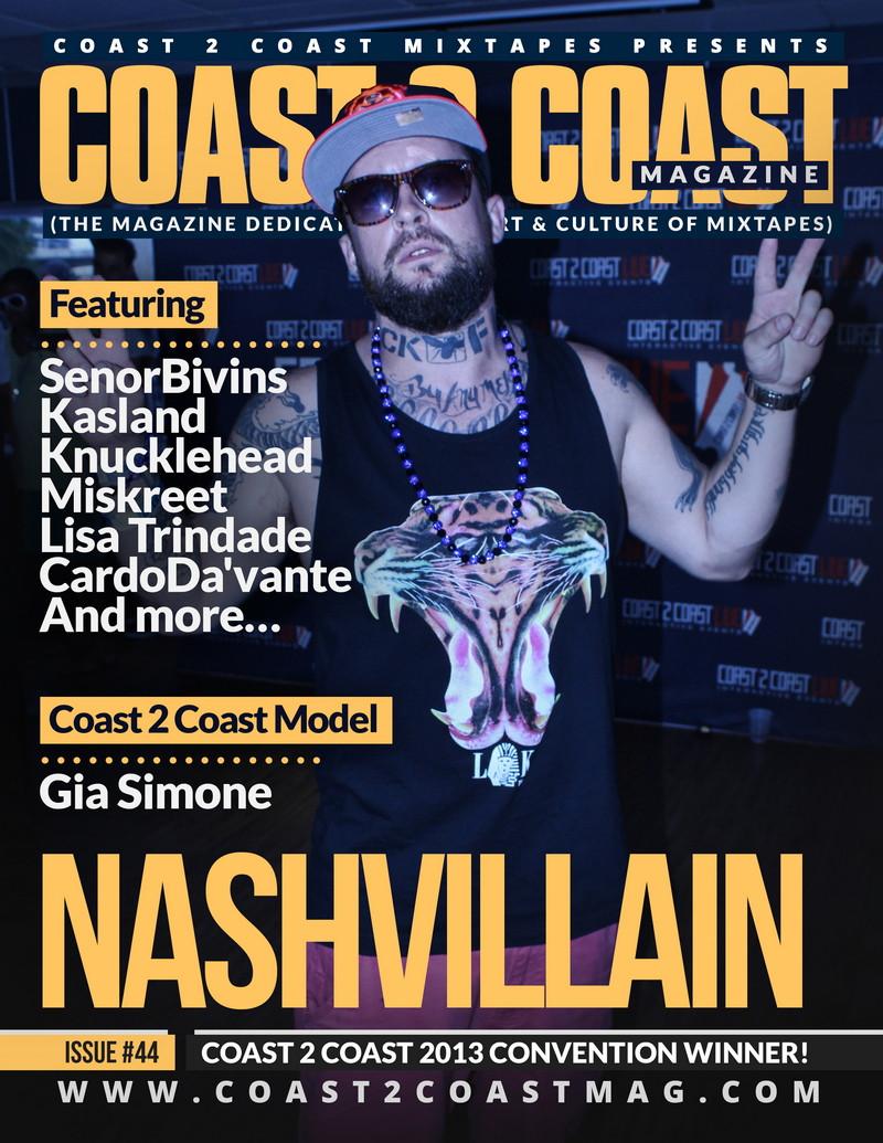 Coast 2 Coast Magazine featuring Kasland