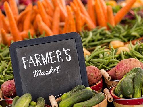 Farmers Market Vendor sign up