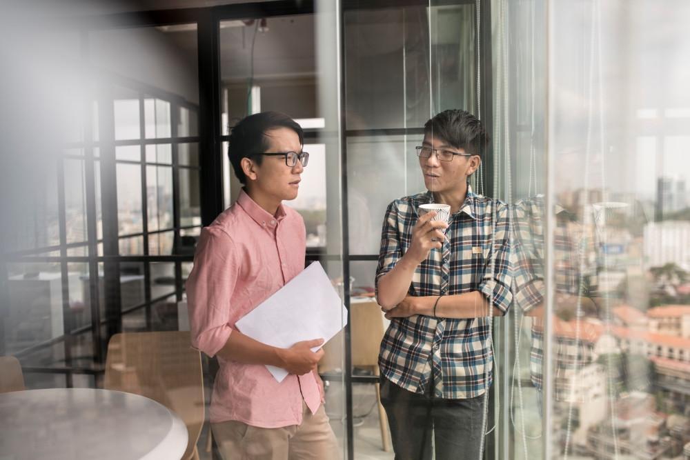 Quy trình làm việc cởi mở, tạo điều kiện cho nhân viên được thể hiện năng lực bản thân EveHR