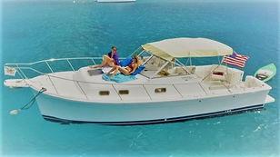 St Thomas Boat Charter - Mainship 30 Pilot Phoenix 2