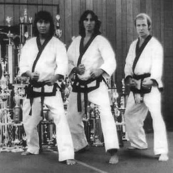 My first instructors in marta arts Hank Farrah, Walt Bone and Richard Jenkens