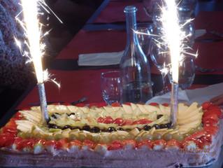 gateau anniversaire à La Grange
