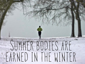 So, race season is over and Winter is coming, what do you do now??