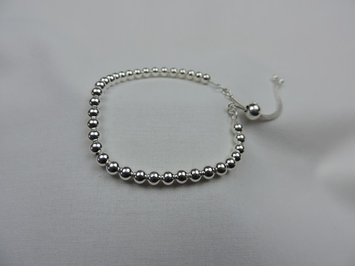 bead diamante ball product diamond grey vonyx goldgrey bracelet silver beaded rose home gold img
