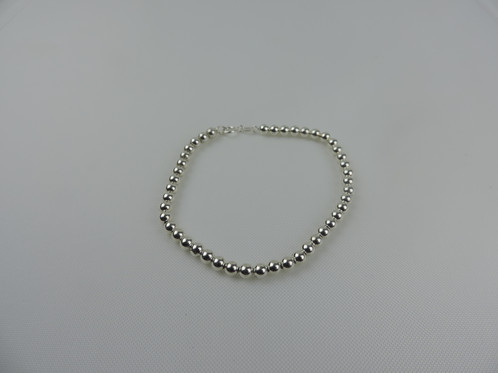 bead vonyx blue silver bracelet product sterling beaded barrel