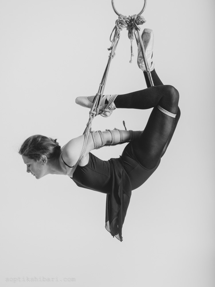 "Photoshoot ""Ballet and Ropes"""
