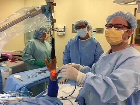 Artroscopia de muñeca Dr Carmona
