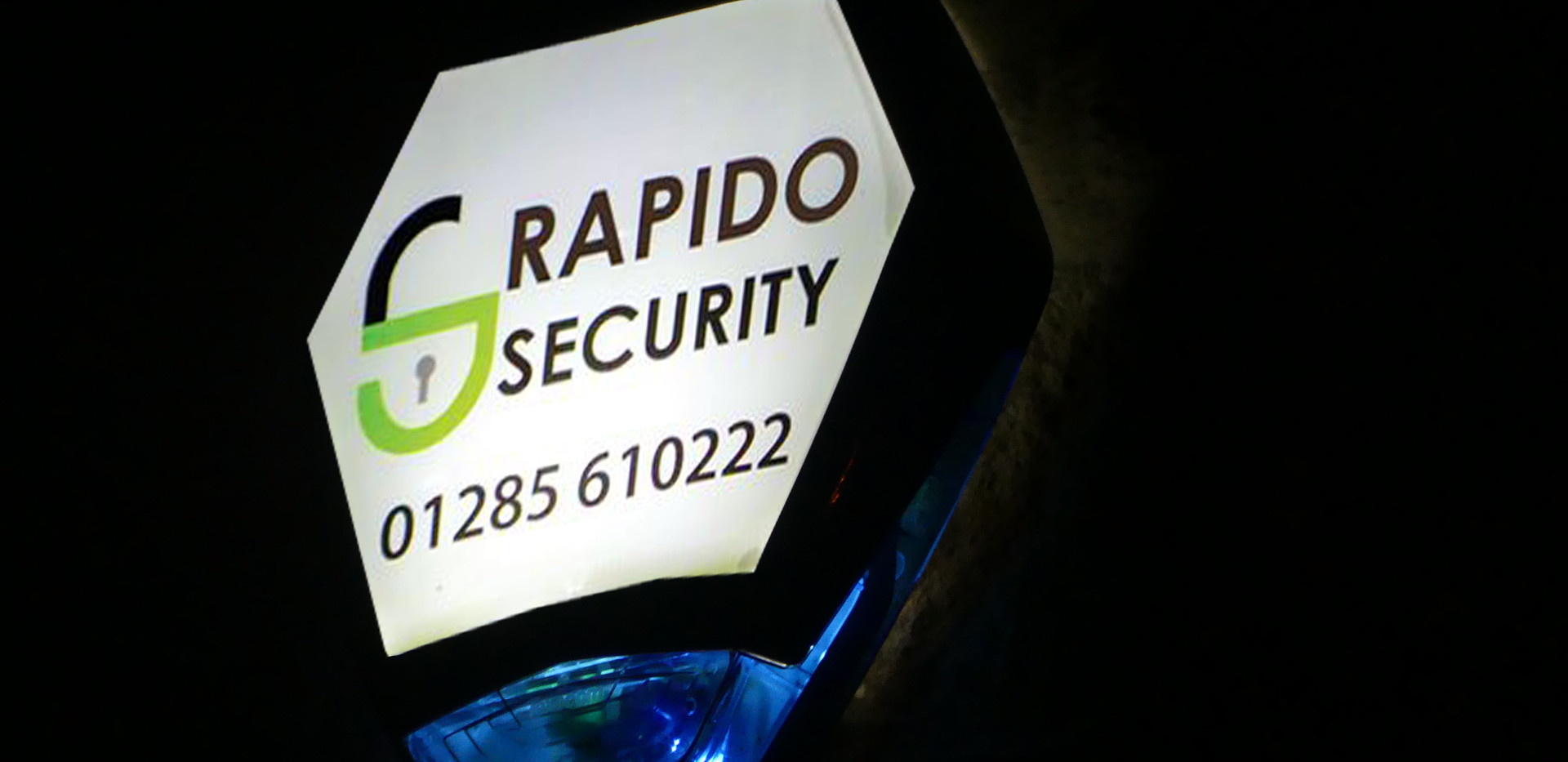 RAPIDO SECURITY CIRENCESTER INTRUER ALAR