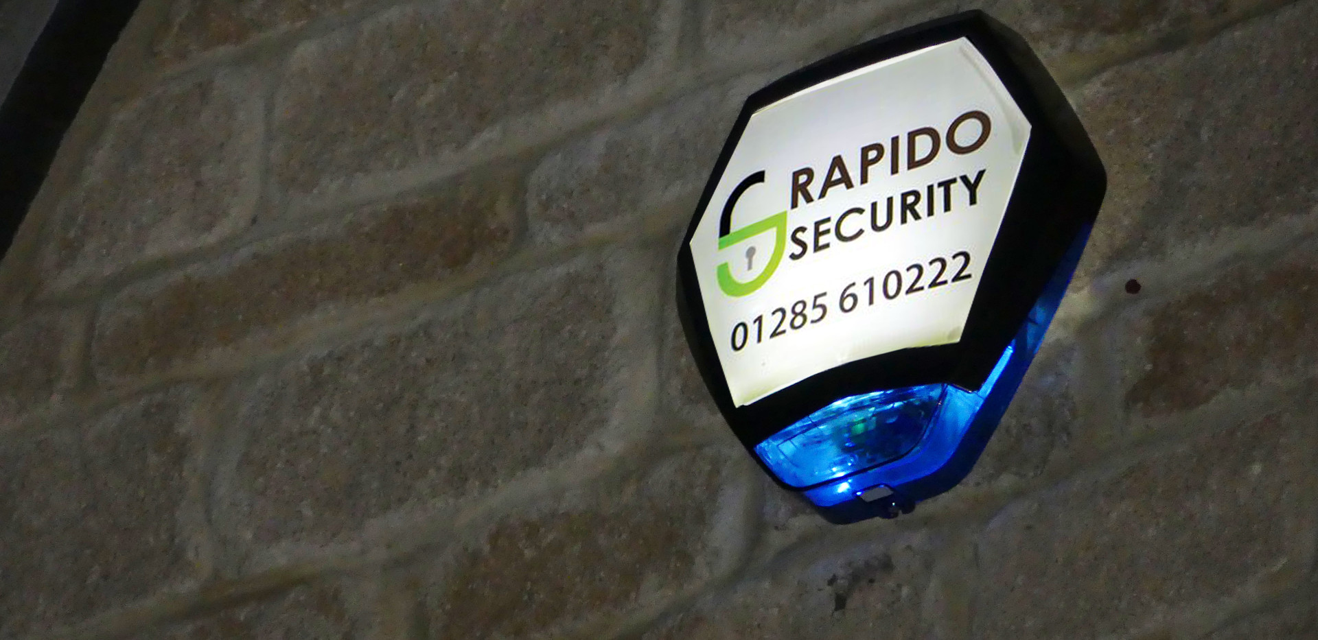 RAPIDO SECURITY CIRENCESTER ALARM INSTAL