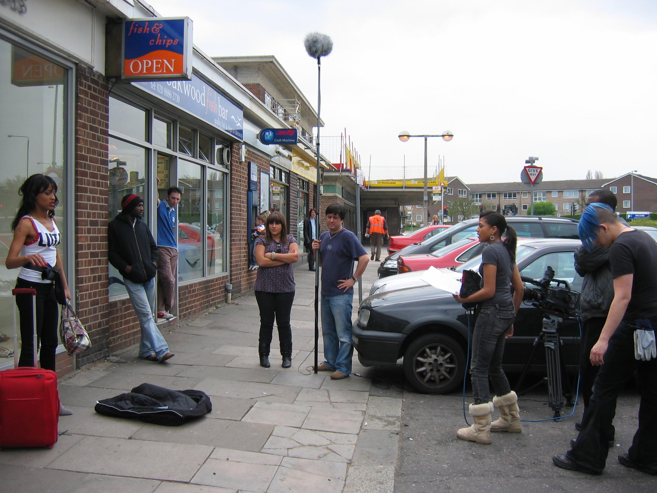 Shooting Scene