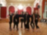 """Андрей Камышный, Карина Шпаковская, Focus Dance Club, группа """"Lady Dance""""."""