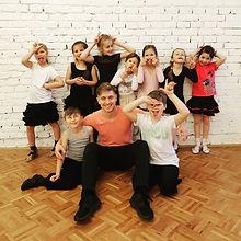 Focus Dance Club. Детская группа. Андрей Камышный. Ученики студии.