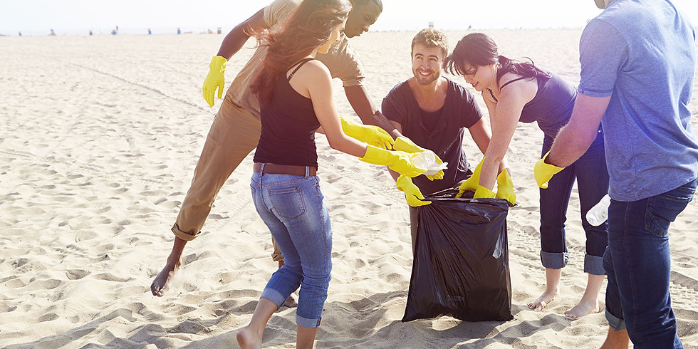 Beach Cleanup & Summer Networking