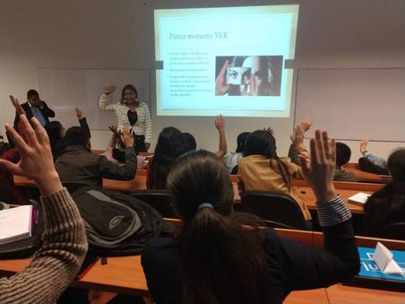 Capacitación sobre el abordaje de casos de Trata de Personas en la Tadeo Lozano