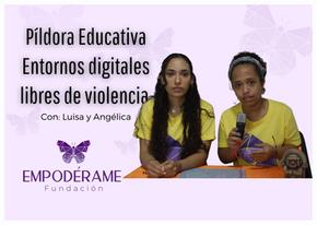 Entornos digitales libres de violencia