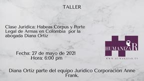 Habeas Corpus y Porte Legal de Armas en Colombia