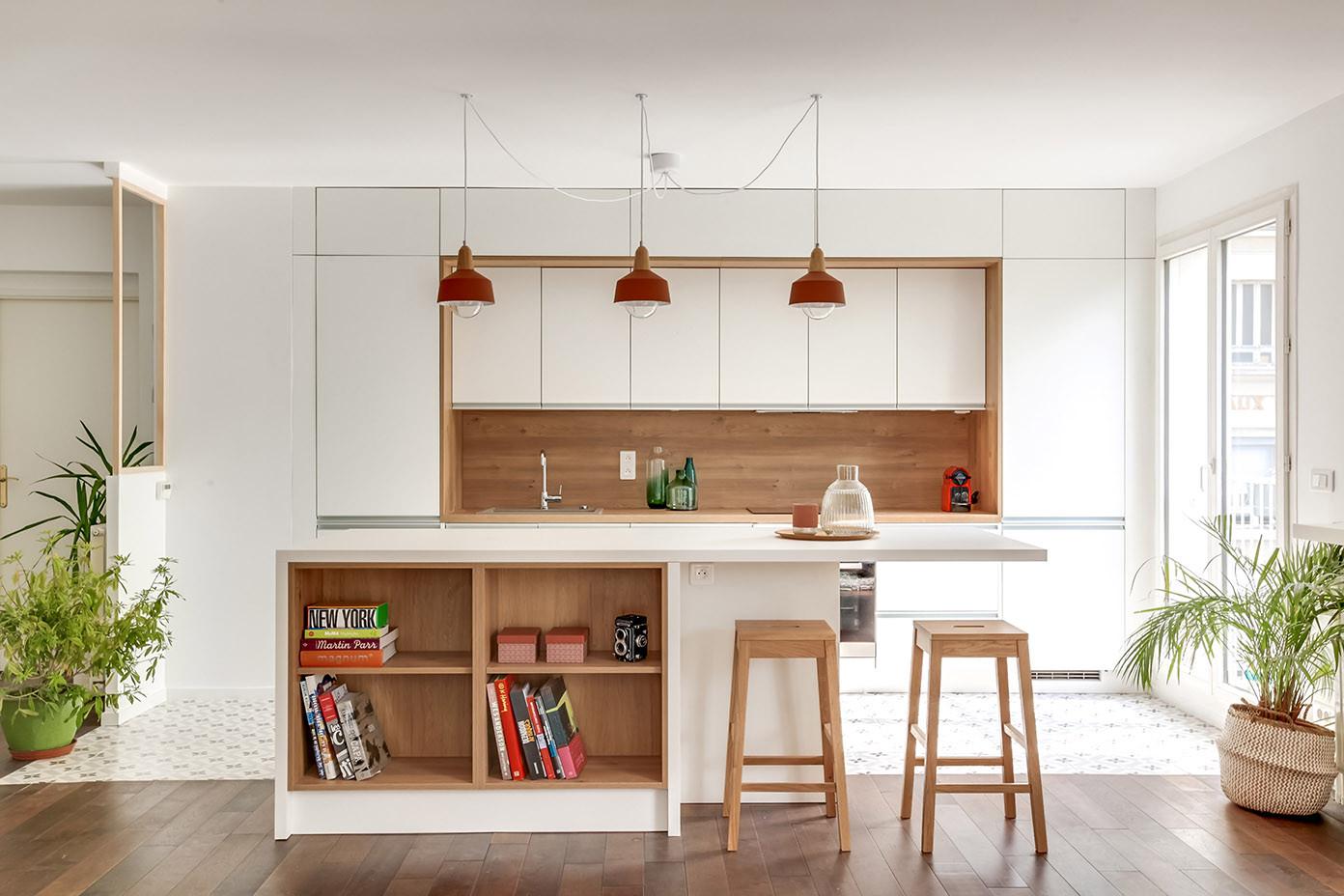 Cuisine ouverte architecte un archi dans