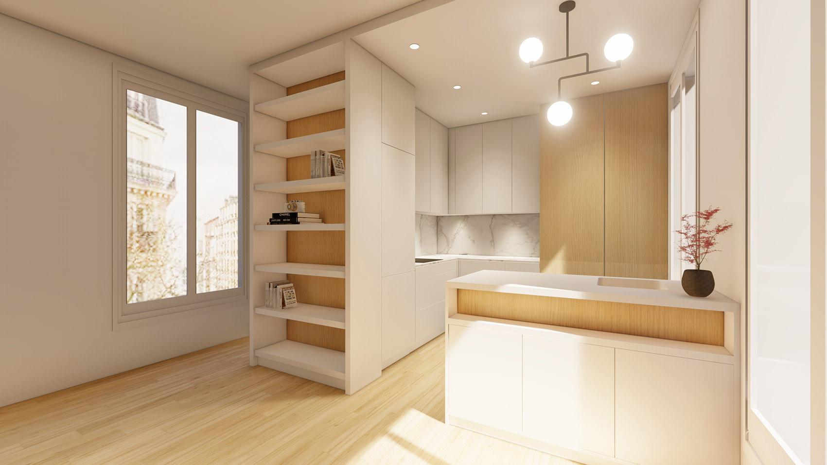 Cuisine design architecte un archi dans
