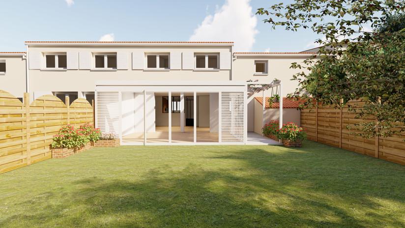 extension veranda pergola architecte un