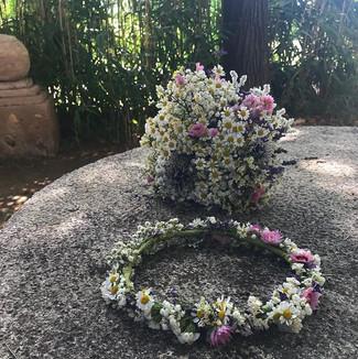 #couronnedefleurs #bouquetdeschamps #mat