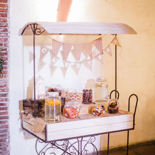 bar à bonbons 150 €