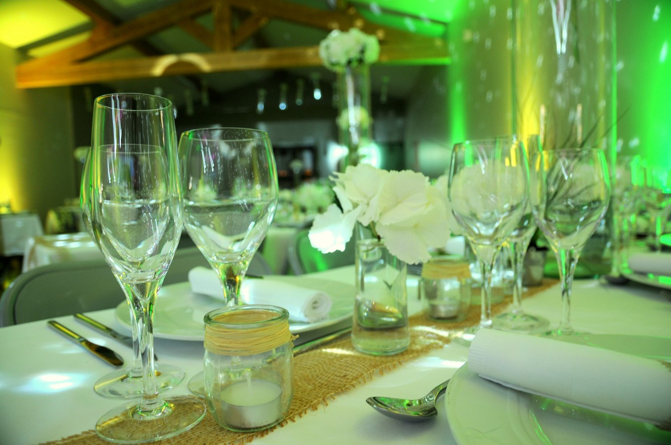 table invités rectangulaire