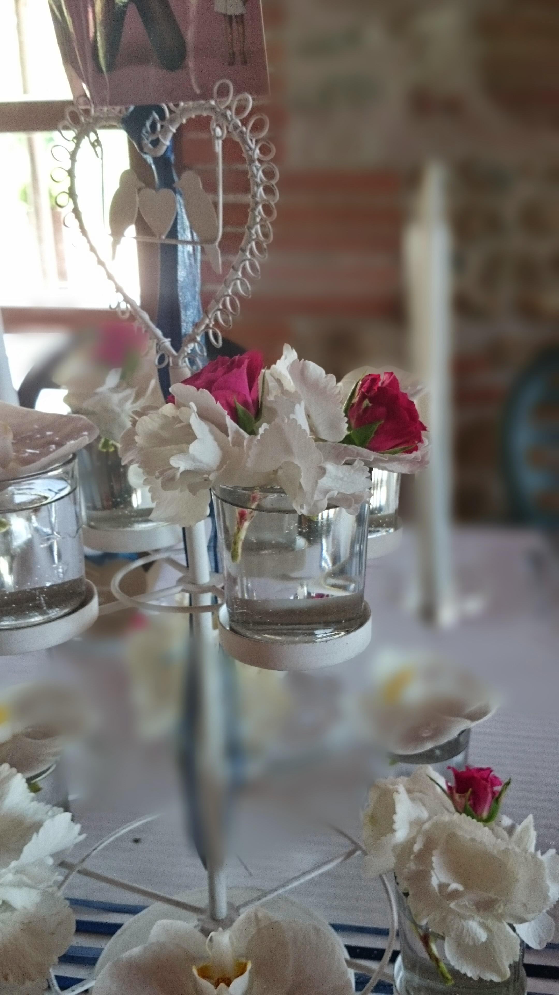 porte cup cake fleuri