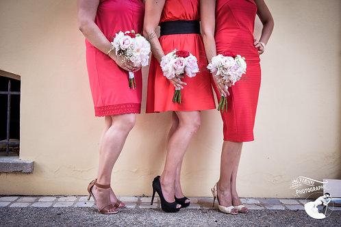 bouquets demoiselles d'honneur ou bracekets