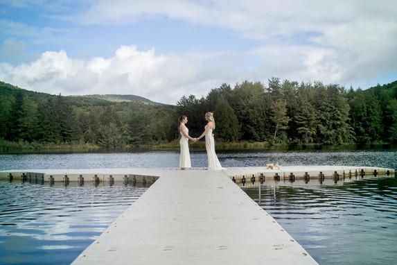 Catskills Lake Wedding