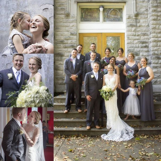 Cortland Upstate NY wedding