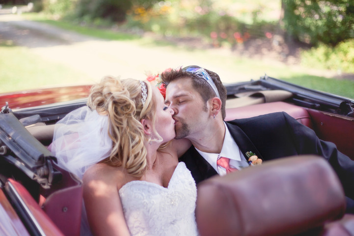 Top Down Wedding