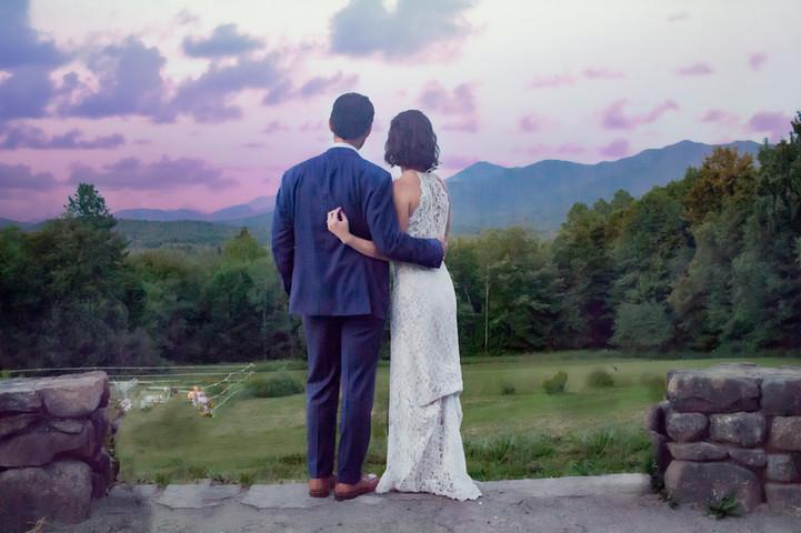 Adirondack Summer Evening Wedding