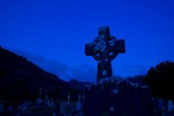 OlafSchubert_Irland__Glendalough_Sternen