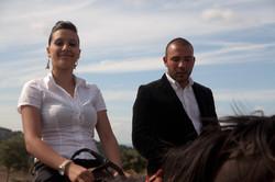 Sardinien_junge Frau in den Bergen