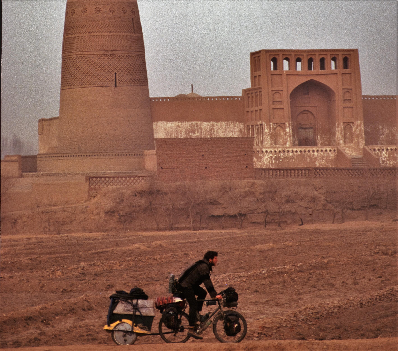 Weltumradlung, Moschee in Turphan (2)