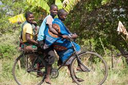 Prachtvolle Begleitung in Burundi