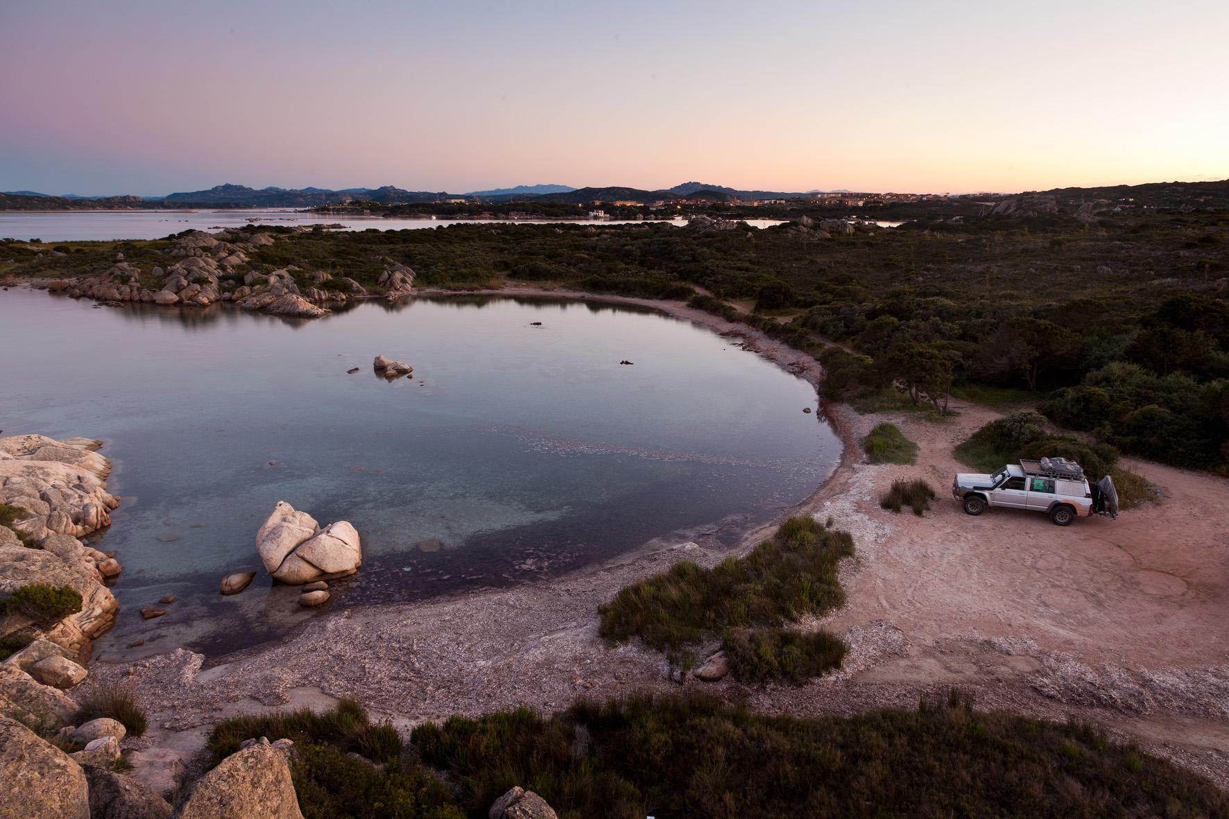 Sardinien_einsame Bucht im Norden