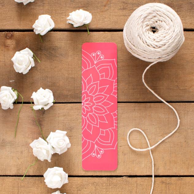Pink Mandala - Bookmark
