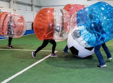 5 faits amusants sur le soccer bulle!