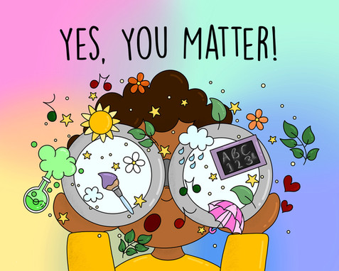 Yes, You Matter - Cover