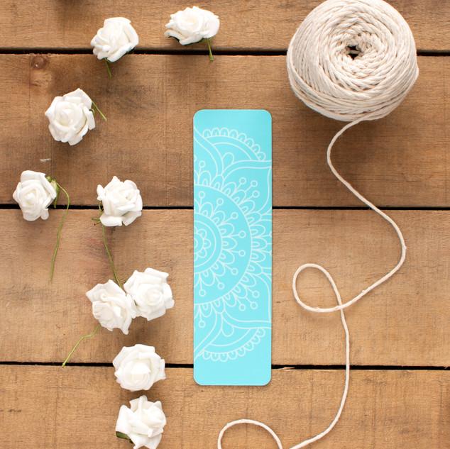 Blue Mandala - Bookmark