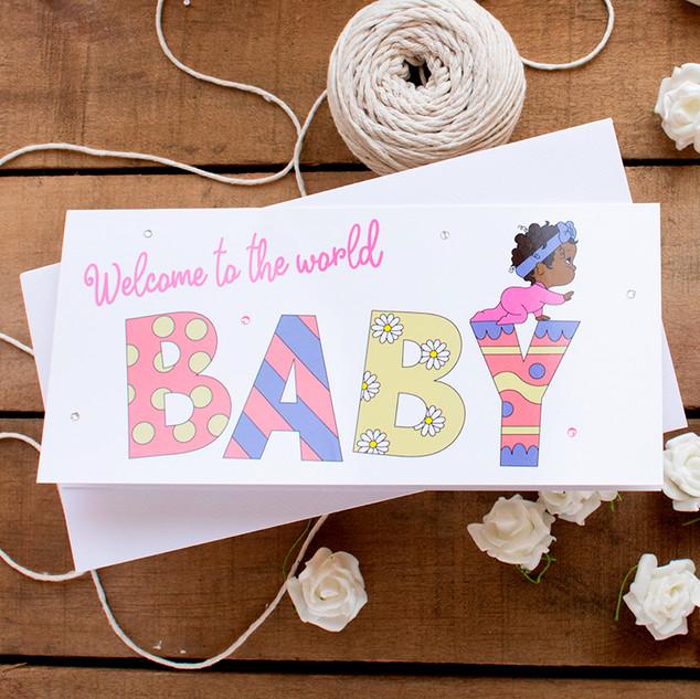 Baby Girl - Wording