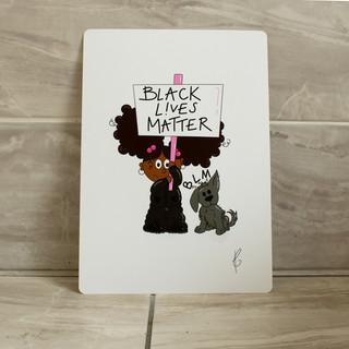 Black Lives Matter - Girl