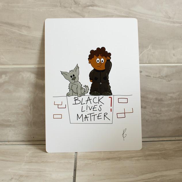 Black Lives Matter - Boy